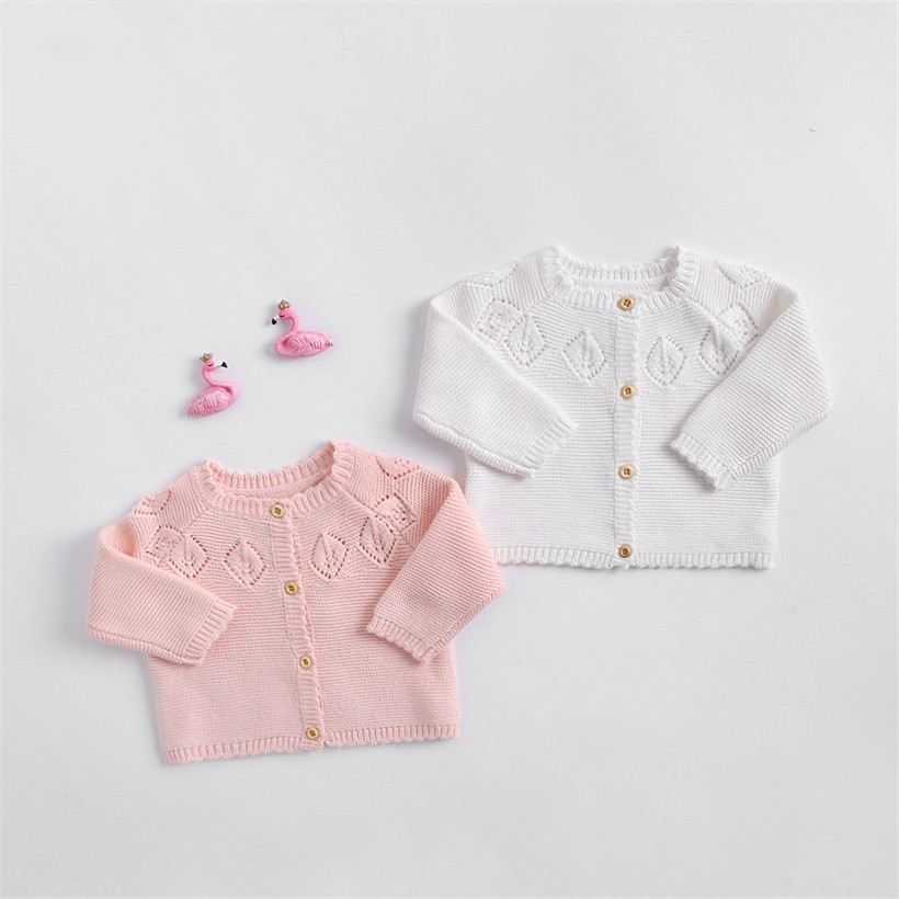 Newborn Baby Sweater Autumn Baby Cardigan Jacket and Coat Cotton Knitted Infant Clothes Toddler Boys Girls Cardigan Coat Outwear