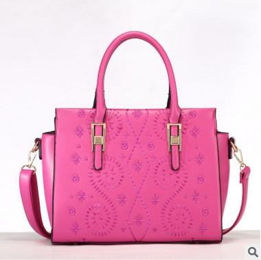 ФОТО Embroidery flowers women handbag designer high quality PU leather shoulder bags fashion ladies messenger bags 4colors sac a main