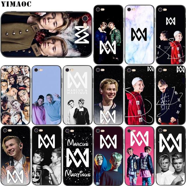 YIMAOC Marcus & Martinus Soft Silicone Case for iPhone XS Max XR X 8 7 6 6S Plus 5 5s se-in