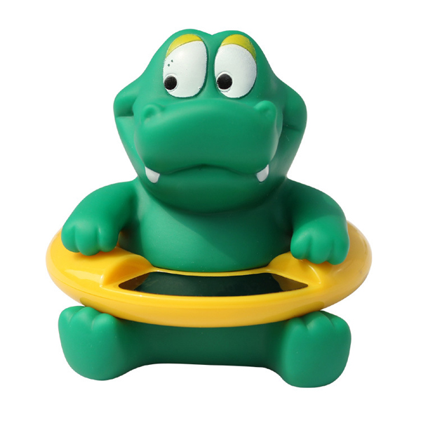 Animal Baby Infant Bathroom Shower Tub Swimming Poor Rubber Float Water Thermometers temperature Tester Toy For Kids Childern ...