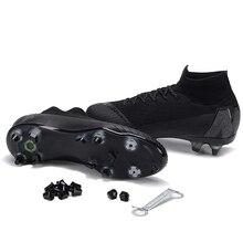 Sufei Top SG Superfly botas de fútbol Original FG Superfly VI  antideslizante atlético al aire libre deporte fútbol zapatos al po. 1e9c8e577c4e3