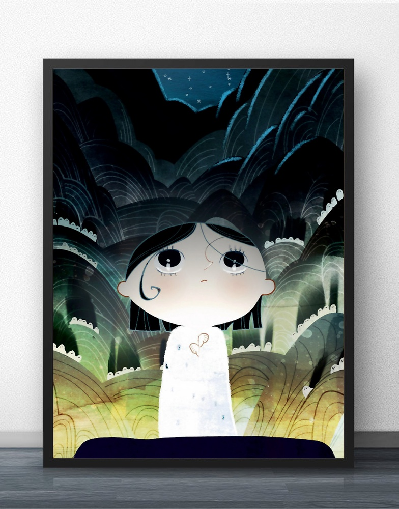Song of the Sea Movie Wall Art Wall Decor Silk Prints Art Poster Paintings For Living Room No Frame