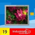 19 polegada quadrada LCD aberto monitor de quadro com interface VGA
