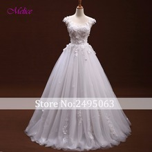 fsuzwel Fmogl A-Line Wedding Dress 2019 Cap Sleeves