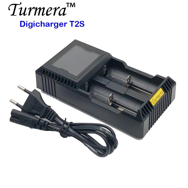 18650 batterie chargeur Turmera 18650 chargeur de batterie lcd T2S pour 26650 21700 18500 18350 14500 NI-MH NI-CD Une pile AA fe17