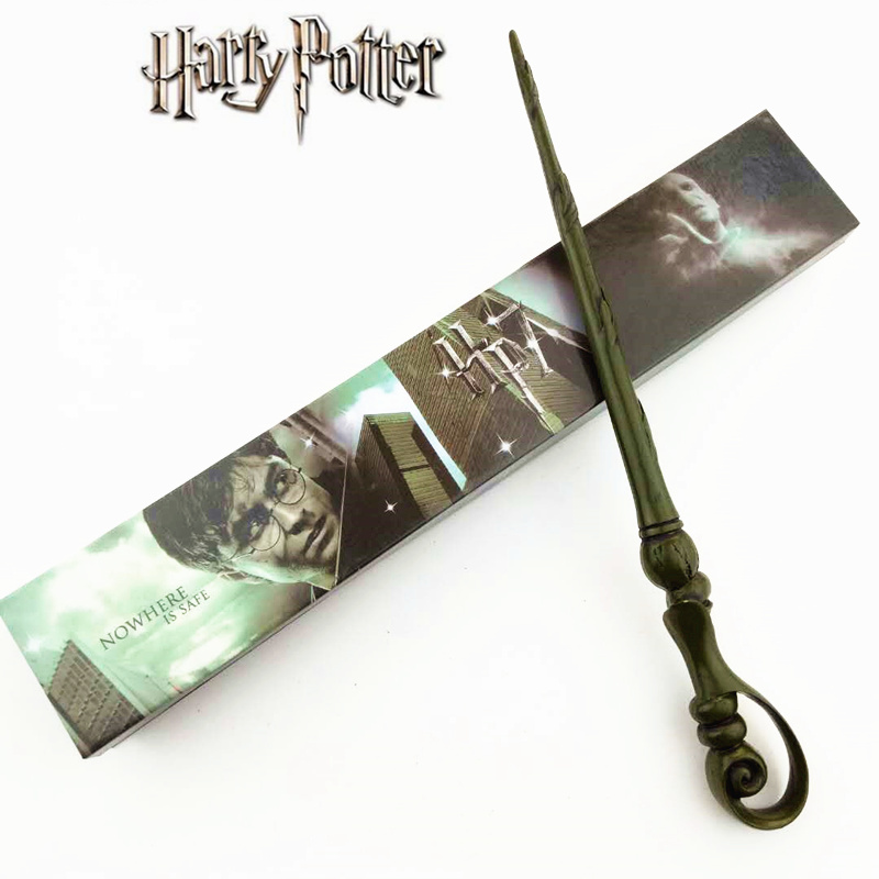 Cosplay Fleur Isabelle Delacour Play Magical Magic Wand Gift In Box Metal Core Harry Potter Magical Wand