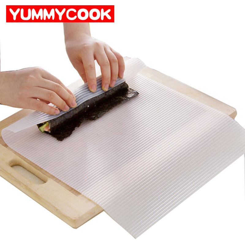 Silicone Sushi Rolling Mat Cooking Baking Pastry Tool