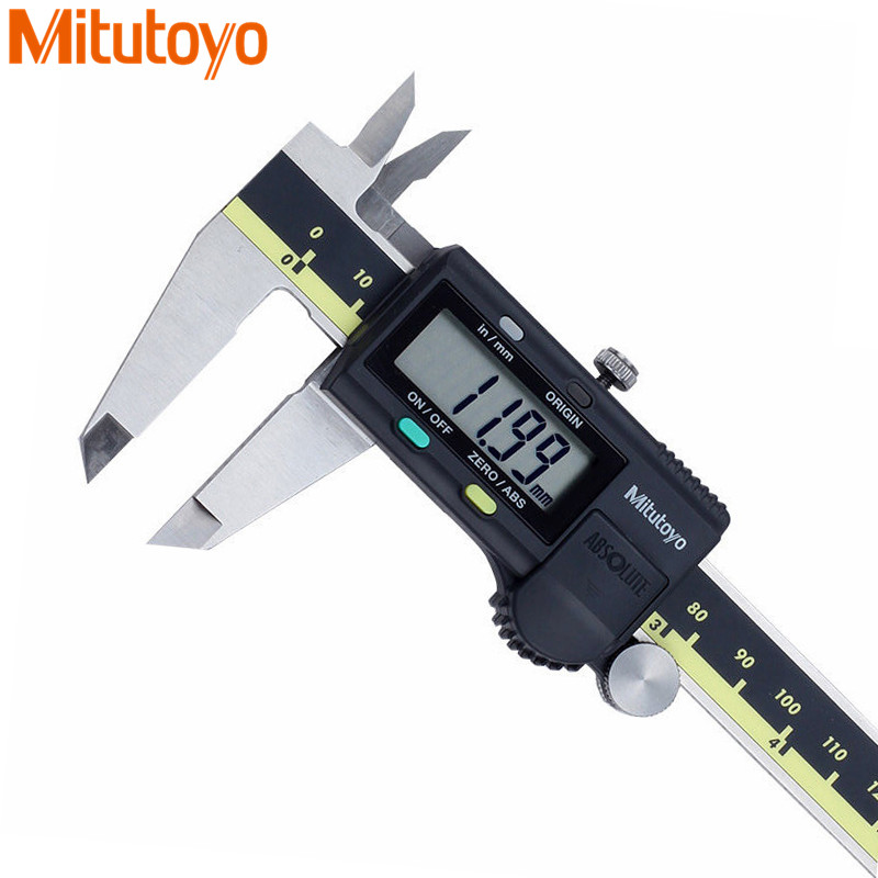 Mitutoyo 500-196-30/197-30/173 Electronic Digital Calipers 0-150/200/300mm/0.01mm Metric/Inch Gauge Micrometer Vernier Caliper