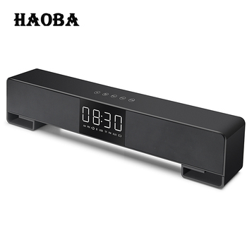 HAOBA A3 TV Soundbar Home Theater Music Center Sound Bar FM Radio Column Bluetooth LED Soundbar for TV Computer iphone Xiaomi