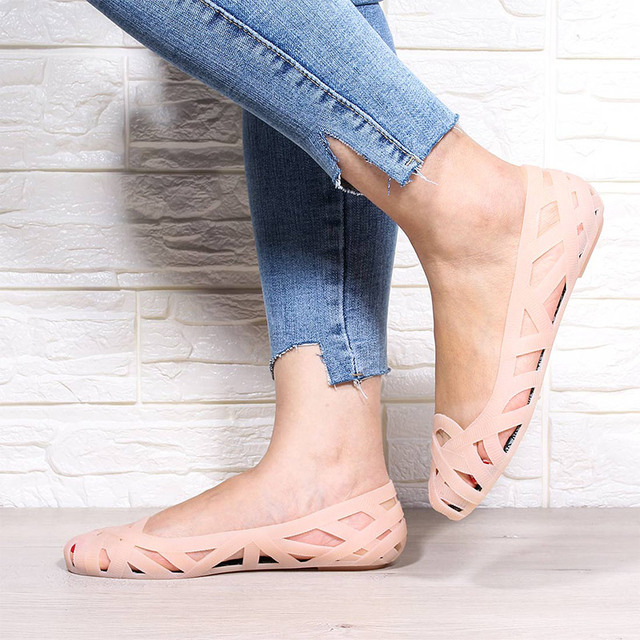 Fashionable Jelly Shoes/ Flat Summer Shoes 16