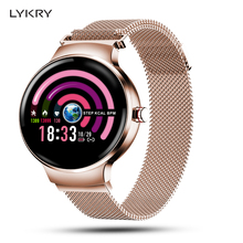 LYKRY H5 Women Smart Watch Blood Pressure Heart Rate Monitor Fitness tracker IP67 Waterproof Fanshion Sport Smartwatch