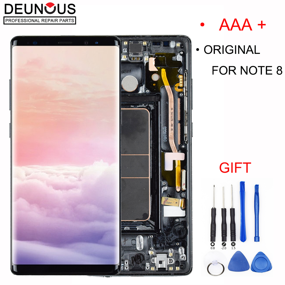 6.3 Amoled For Samsung Note 8 LCD Note8 Lcd Display Touch Screen Digitizer Assembly For Samsung Pro N9500 N9500F N900D N900DS6.3 Amoled For Samsung Note 8 LCD Note8 Lcd Display Touch Screen Digitizer Assembly For Samsung Pro N9500 N9500F N900D N900DS