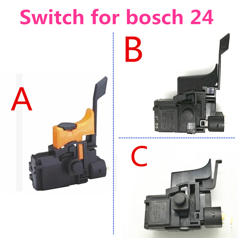 Tools Hand & Power Tool Accessories Discreet Switch For Bosch 24 1 617 200 077 1617200077 Gbh2-24dsr Gah500dsr Gbh2sr Gbh2-2dfr Hammer Drill Accessories Parts Skillful Manufacture