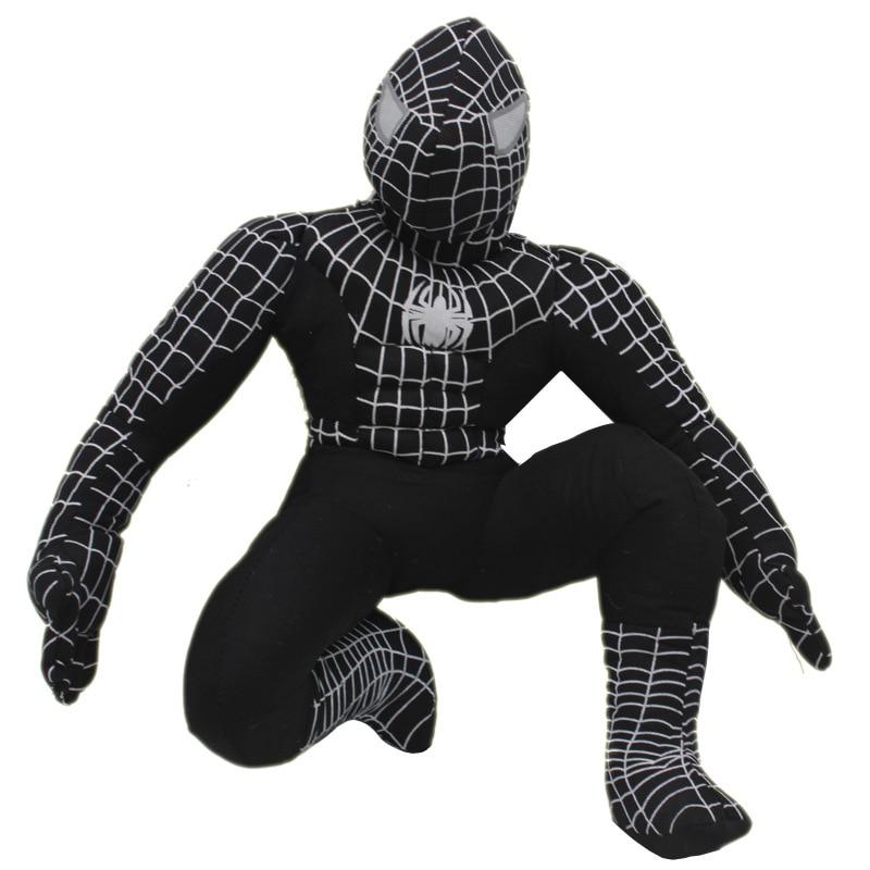 Hero Spider man Stuffed Plush Toys The Avengers Spiderman Plush Dolls