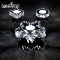 Modern Crystal Led Wall Lamp Star Wall Light Bedside Lamp Wall Sconces Bathroom Fixture Lamp set Corridor Aisile Ceiling Lamp