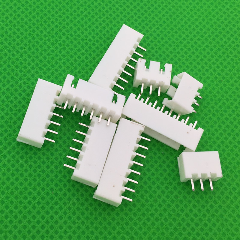 50pcs/lot XH2.54 Connector Leads pin Header male material 2.54mm pitch XH-A Free shipping 200pcs 2 pin connector leads heade 2 54mm xh 2p kit
