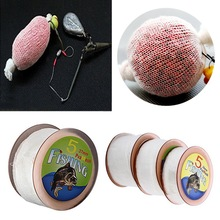 1PC New 5M PVA Mesh 25/37/44mm Fishing Net Refill Carp Fishing Stocking Tackle Bait Bags Fishing Accessories Fish tool