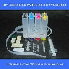 Чернильный способ DIY Универсальная непрерывная система чернил снпч комплект с аксессуарами шприц воздушный фильтр и т. д., без картриджей