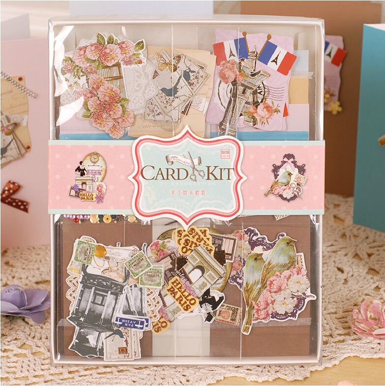 Eno greeting eno greeting diy vintage card kit set creative gift eno greeting eno greeting diy vintage card kit set creative gift greeting card making kit for kidsfriends in cards invitations from home garden on m4hsunfo