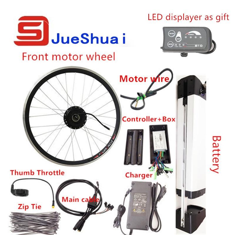 "Electric Bike Motor Kit Price: 20"" 700C /36V 250W 500W Electric Motor Brushless Bike Kit"