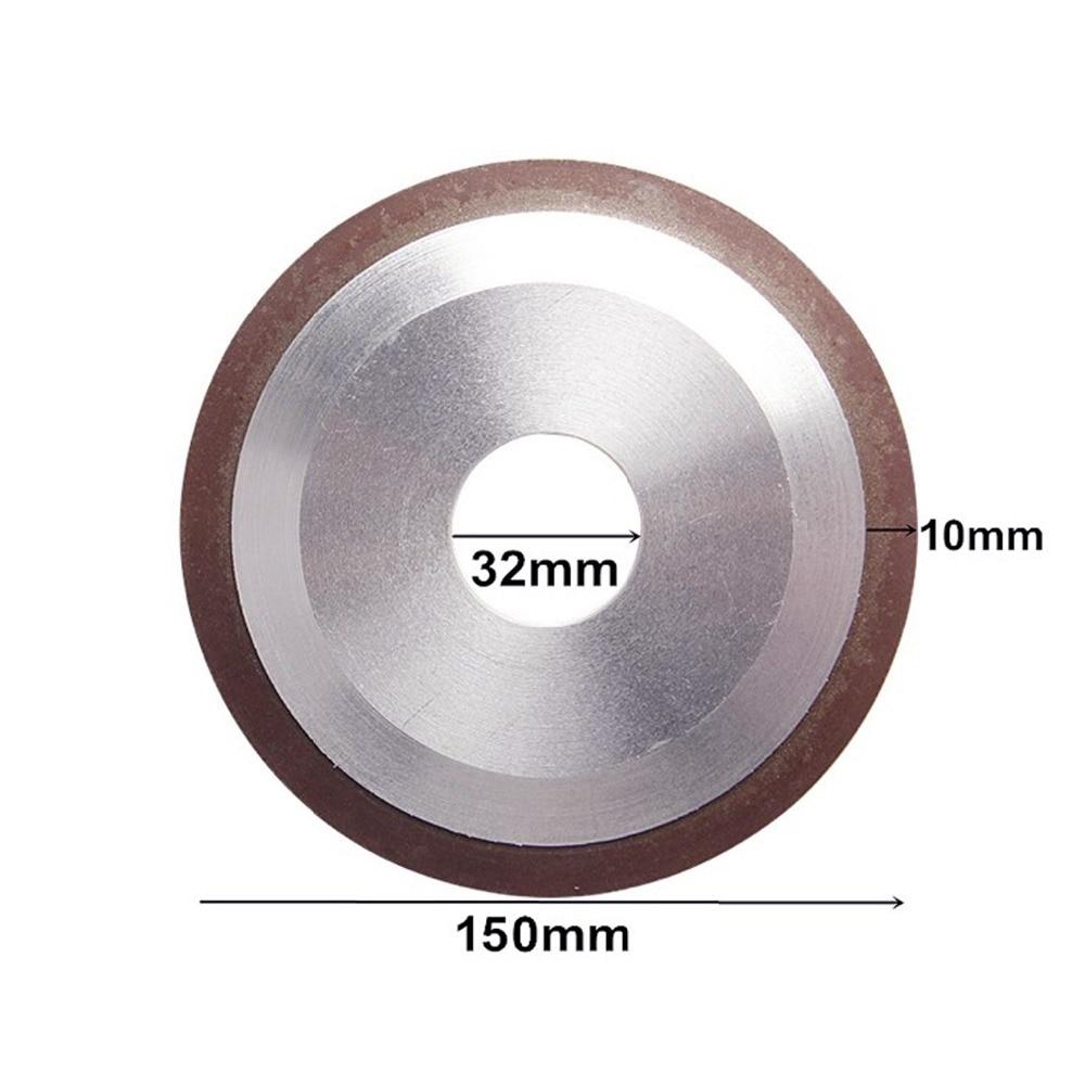 1 vnt 150mm 120/150/180/320/400 laipsnio deimantinis ratukas - Abrazyviniai įrankiai - Nuotrauka 2