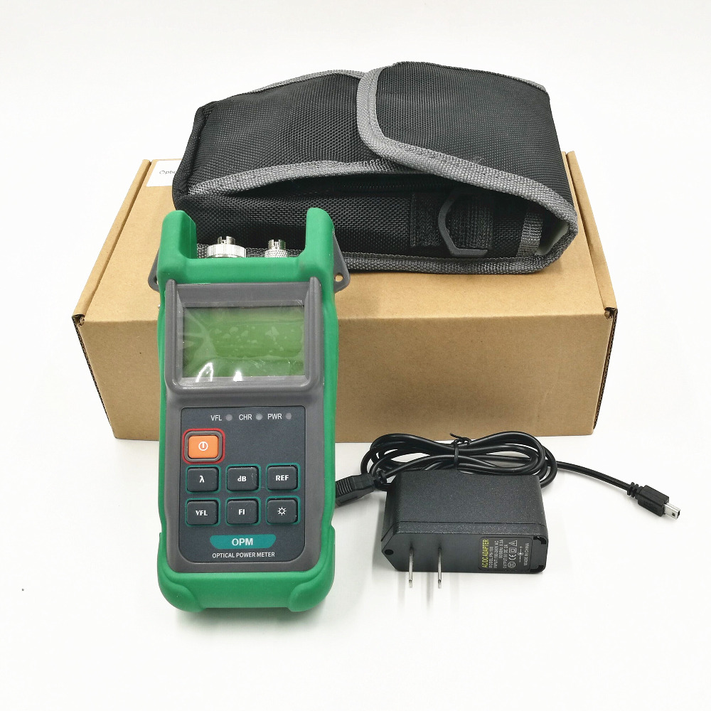 KPM-35V Optical Power Meter and Visual Light Source OPM&VFL 2 IN 1 10MW Fiber Optic Cable Tester 6 WavelengthsKPM-35V Optical Power Meter and Visual Light Source OPM&VFL 2 IN 1 10MW Fiber Optic Cable Tester 6 Wavelengths