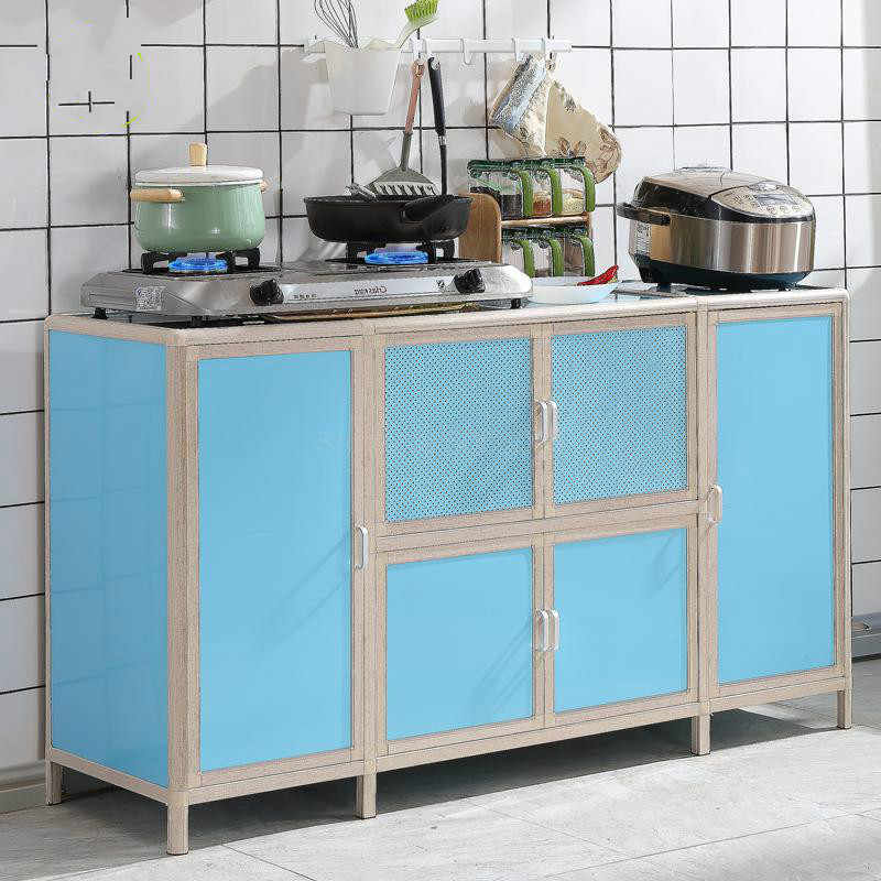 Cabinet simple assembly economy kitchen storage cabinet cupboard multifunctional simple stove cabinet cabinet