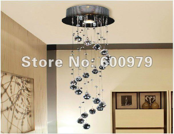 Free shipping wholesale price contemporary crystal ceiling light, dining hanging lamp, crystal chandelier light  цены