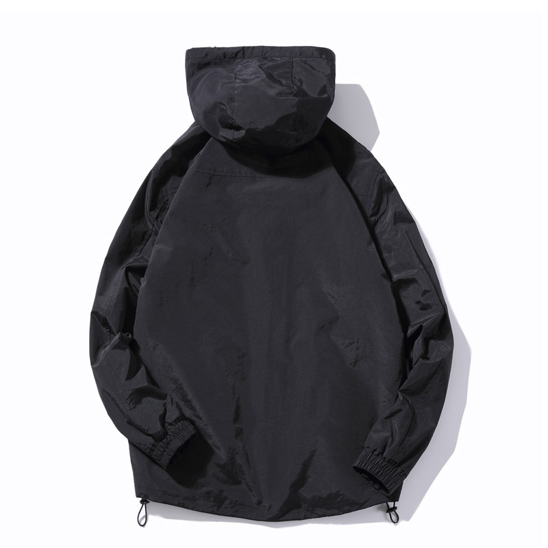 Winter New Simple Design Thick Warm Hooded Jacket Men Black Gray Colors Youth Fashion Loose Windproof Jackets Coats 4XL 5XL - 3