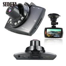 """Coche Cámara Grabadora de Vídeo Dash Cam Videocámara 2.4 """"LCD g-sensor de Visión Nocturna de Coches de vídeo detector de Choque registrator"""