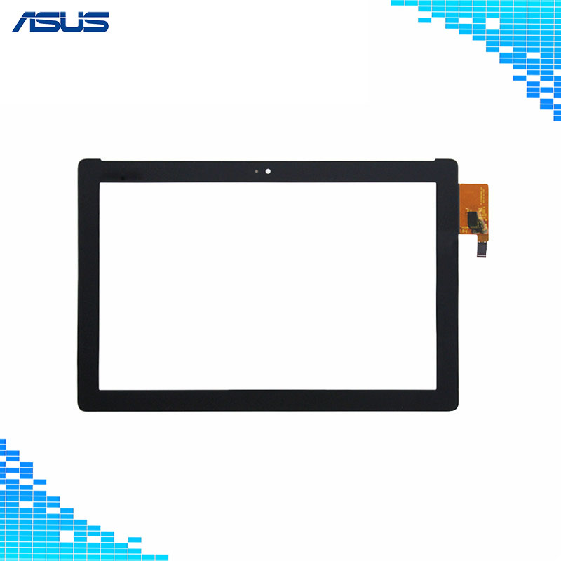Original Asus Z300m Black Touch Screen Digitizer Glass Lens Panel replacement parts For ASUS Zenpad 10 Z300M tablet Touch panel shot крем краска с коллагеном для волос dna 124 оттенка 100 мл 5 светло каштановый 100 мл
