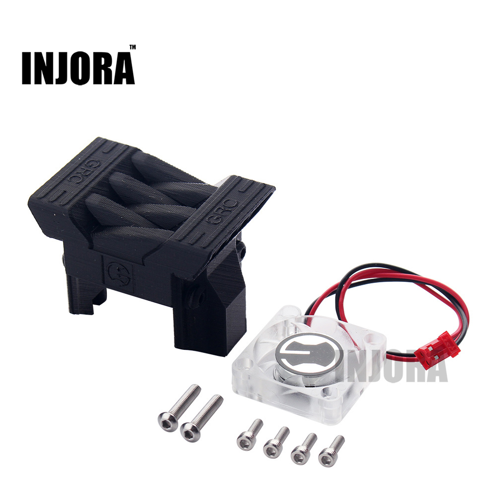 New TRX4 ESC Radiator Cooling Fan for 1/10 RC Crawler TRAXXAS TRX-4 TRX 4 radiator cooling fan relay control module for audi a6 c6 s6 4f0959501g 4f0959501c
