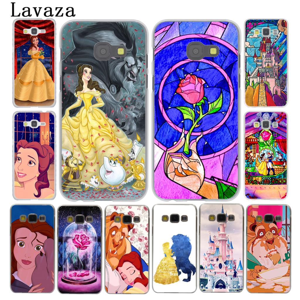 Lavaza Beauty and the Beast cute Phone Case for Samsung Galaxy A3 A7 A8 A5 2015 2016 201 ...
