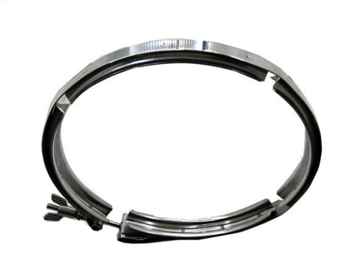 304 stainless steel double clamp hose V-shaped groove hoop card fast loading filter punch hoop groove strong304 stainless steel double clamp hose V-shaped groove hoop card fast loading filter punch hoop groove strong