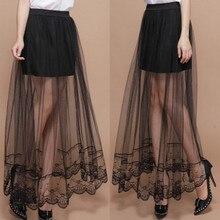 Новинки для женщин пикантная юбка с кружевом и карманами на бедрах, в виде переплетенных нитей база правил юбка миди