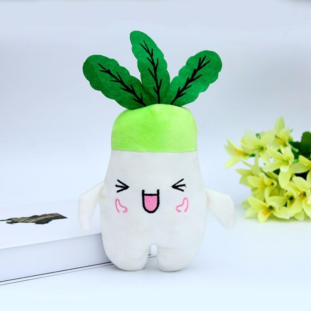 Emoj Plush Radish Dolls Plush Toy Turnip Doll With Random Face Express 2pcs/LOT