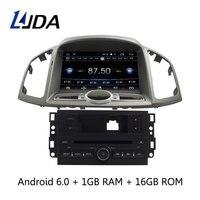 LJDA 8 дюймов Android 6,0 dvd плеер автомобиля для Chevrolet Captiva 2006 2015 автомагнитолы аудио RDS Bluetooth Canbus gps навигации