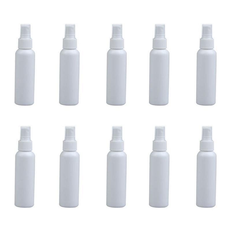 Пустые флаконы для духов, 10 шт., 100 мл, косметические пульверизаторы, распылитель, пластиковый Заправляемый спрей, бутылочки-15