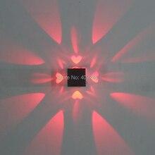 LED 3 Вт/разноцветные украшения свет квадратный Ресторан ТВ установки лампы K ТВ бар настенный светильник