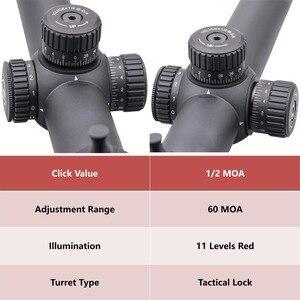 Image 3 - וקטור אופטיקה GenII פורסטר 1 5x24 Riflescope 30mm מרכז דוט מואר מתאים AR15 .223 7.62mm Airgun Airsoft ציד היקף