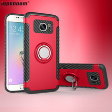 S7 Edge Cases For Samsung Galaxy S7 Case shockproof With finger ring Holder Phone Back Cover For Samsung Galaxy S7 Edge coque все цены