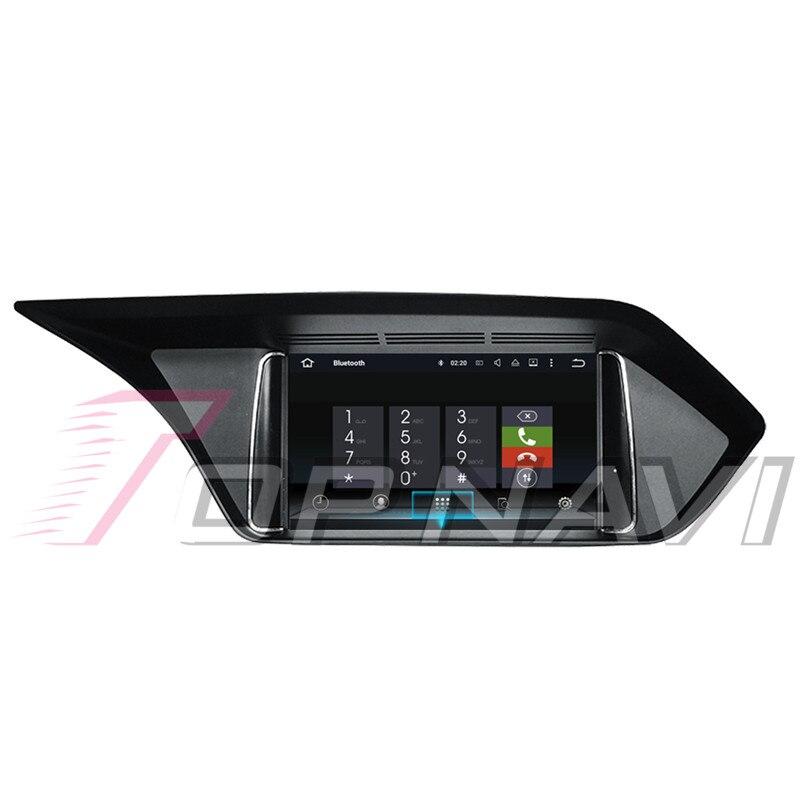 Topnavi Android 8.0 voiture PC lecteur Auto Radio pour Mecerdes Benz C (2014 2005 2006 2007 2008-2017) GPS Navigation 4 + 32 GB Octa Core - 4