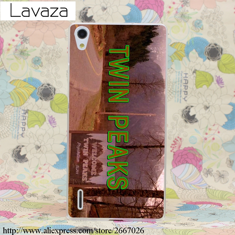 Lavaza Welcome To Twin Peaks Case for Huawei Honor 6a 7x 8 9 10 P8 P9 P10 P20 P Smart Mate 10 Lite Pro Mini 2017