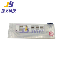 High Quality!!! 4 pcs/lot 220ml Ink Cartridge with Float Sensor for Inkjet Solvent Printer все цены