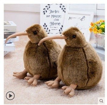 12cm/30cm/50cm/cm  Cute Kiwi bird Plush Toy Stuffed Doll Bird  Simulation Animal baby Doll Kids chritmas gift 30cm height limited edition eevee luma anime new plush doll for fans collection toy celebi