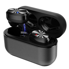 лучшая цена Wireless headphone bluetooth 5.0 earphone 3D stereo bass IPX7 waterproof headset earbud air dort with dual mic for xiaomi phone