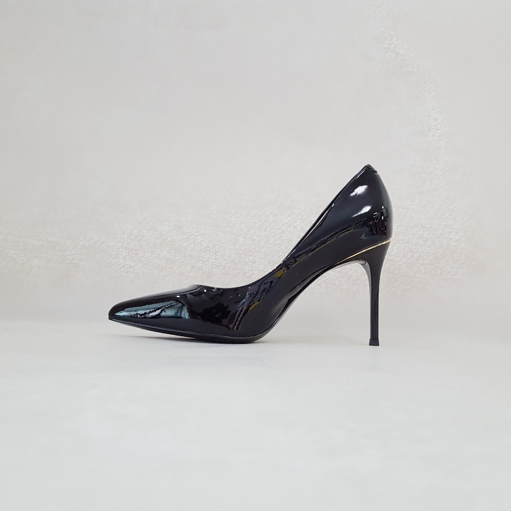 f37e30b769246a Leder Schuhe Sanlume Patent Nude Ferse Pumpt Spitz Damen Frau Sexy Aus  Partei Cm Matte Frauen Cm Büro Heels Echtem Stiletto ...