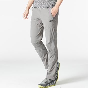 2019 gorąco na zewnątrz lato cienki przekrój szybkoschnący spodnie mężczyźni kobiety Stretch spodnie do wędrówek pieszych na co dzień sportowe do chodzenia spodnie na piesze wędrówki tanie i dobre opinie Pełnej długości Camping i piesze wycieczki NYLON Elastyczny pas X-polar DSK046 Pasuje prawda na wymiar weź swój normalny rozmiar