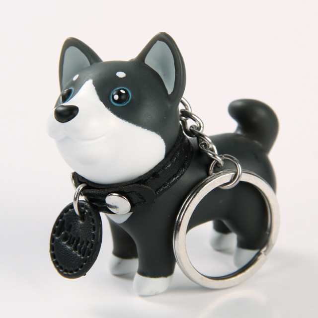 2018 Anime Figure Dog Keychain