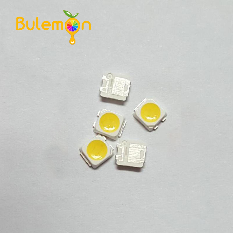 100pcs/lot LED LCD TV Backlight Beads 1W 3V 2828 Lamp Beads